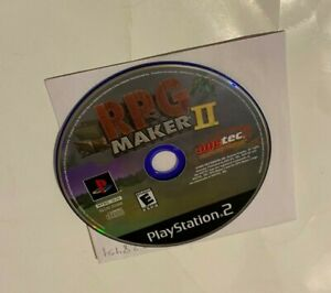 RpG Maker II 2 PlayStation 2 2003 PS2 DISC ONLY FAST SHIPPING NTSC EVERYONE