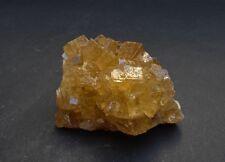 Preciosa fluorita amarilla de Mina Moscona Nice yellow fluorite from Spain