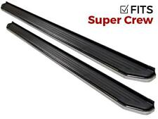 Ionic 41 Series Brite fits 2009-2014 Ford F150 SuperCrew Running Boards Steps