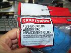 CRAFTSMAN FILTER SHOP VAC VACUUM PN 916949 - 2 or 2 1/2 Gallon - FREE SHIPPING