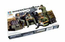 TRUMPETER Military Model 1/35 German Anti-Aircraft Gun Crew Hobby 00432 P0432