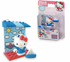 Hello Kitty Sailor Boat Outfit Sea Capt Minifigure Mega Bloks Block 7 pces 10812