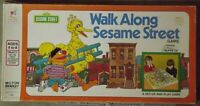 Vintage Walk Along Sesame Street Game (1975) Parts & Pieces Only - You Choose