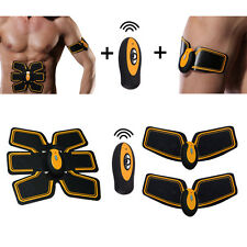 EMS Muscle Training Gear Abs Fit Wireless Body Exercise Fitness Massager Six Pad