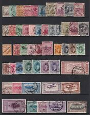 EGYPT 1914-51 USED COLLECTION 204 STAMPS