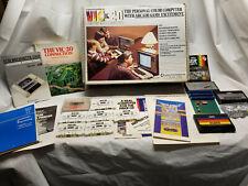 Commodore VIC 20 Personal Computer Accessories and Box (No Computer)