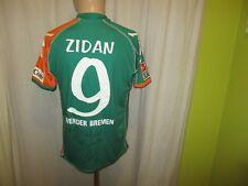 Werder Bremen Kappa Matchworn Trikot 2006/07 + Nr.9 Zidan + Signiert Gr.M- L TOP