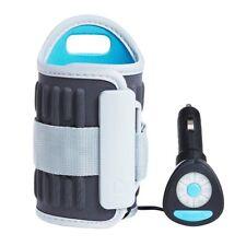 Munchkin Travel Car Baby Bottle Warmer, Grey - NIB