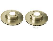 Set of 2 Brembo Front Brake Rotors 525i  525it  530i 535i