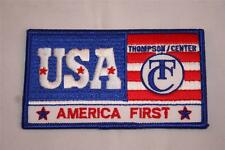 Thompson Center Muzzleloading T/C Black Powder USA  America First Shoulder Patch