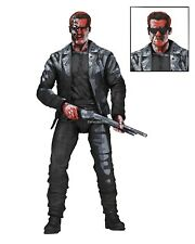 "Terminator 2 - 7"" Action Figure - T-800 Video Game Appearance - NECA"