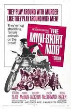 THE MINI-SKIRT MOB Movie POSTER 27x40