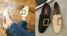 Unbranded Leather Loafers Moccasins Flats for Women