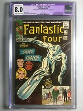 Fantastic Four 50 - GCG 8.0 - Iconic Cover, 1st Wyatt Wingfoot - Restored  🔥