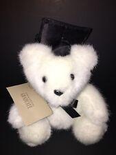 "Hallmark White Stuffed Plush Graduate Bear 7"" New"