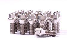 14x1.5 Titanium Lug Bolts 28mm Shank 20 pieces 6AL4V Aerospace Grade