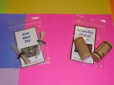 geocache container cork golf tee sneaky tubes Rite in the Rain stash geocaching