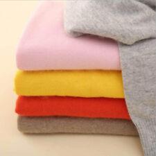 Women Casual Wool Blends Sweater Autumn Winter Warm Slim Knitted Pullover Jumper