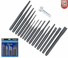 16 PIECE PUNCH AND CHISEL SET HEAVY DUTY FOR MECHANICS ENGINEERS AND DIY USE