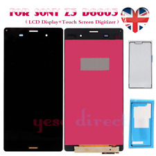 For Sony Xperia Z3 D6603 LCD Touch Screen Display Digitizer Replacement Black UK