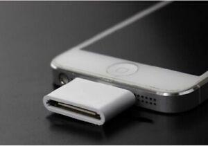 ADATTATORE 8 PIN Lightning per iPhone 5C 5 5S SE 6S 6 7 PLUS A 30 PIN 4 4S