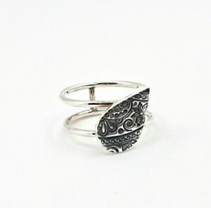 Handmade Sterling Silver Unique Statement Ring Band