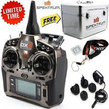 Spektrum DX9 9CH DSMX Transmitter / Radio + FREE Stand UP Transmitter Case