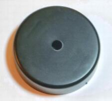 Black Plastic Clock Hub (Cover) With Built In Hanger - Conceals Quartz Movements