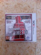 hollywood crimes jeux nintendo 3ds 2ds anglais francais
