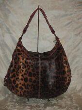 Red Leopard Hobo Shoulder Bag