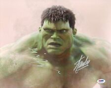 Eric Bana & Stan Lee Signed HULK 11x14 Photo PSA/DNA COA Incredible Auto Picture