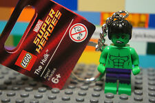 LEGO 850814 Marvel Avengers Superheroes INCREDIBLE HULK Minifigure Keychain