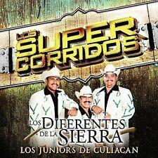 Los Diferentes de la Sierra : Super Corridos: Los Junior De Culiacan CD