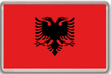 ALBANIA FLAG FRIDGE MAGNET SOUVENIR IMAN NEVERA