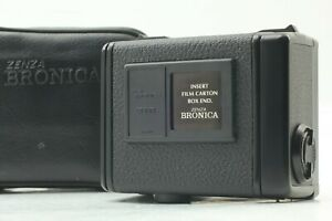 Rare!🔹MINT w/Case🔹 ZENZA BRONICA ETR S Si 135 W Film Back Panorama from Japan