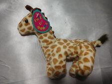 "Vintage  Avon 1997 Full O' Beans Stretch Giraffe 7"" Plush"