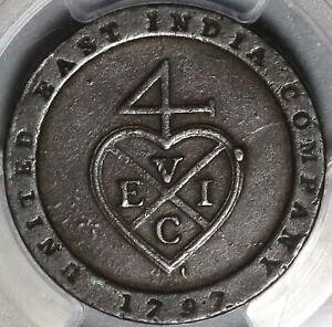 1797 PCGS VF 35 Madras Presidency 1/96 Rupee East India Bale Coin (20110701C)