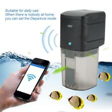 WIFi-Auto Control Fish Feeder Feeding Aquarium Fish Tank Food Dispenser Timing
