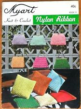 Myart Knit & Crochet Book - Nylon Ribbon, Book 9