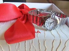 OMEGA CONSTELLATION MINI LADIES STAINLESS STEEL QUARTZ.Ref 1561.71.00.Boxes.Dama