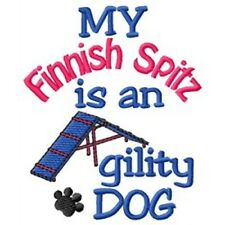 My Finnish Spitz is An Agility Dog Fleece Jacket - Dc1852L Size S - Xxl