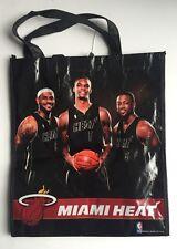 Miami Heat Reusable Bag Lebron James Dwyane Wade Bosh Rare Champions