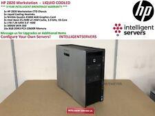 HP Z820 Workstation - Liquid Cooled - 20 Cores, 128GB RAM, 500GB SSD, 1TB, K5000