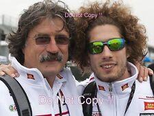 Marco & PAOLO SIMONCELLI SAN CARLO HONDA GRESINI MOTO GP Ritratto Fotografia