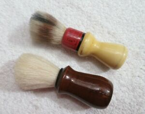 vintage shaving brushes one marked Cavalier lot Y