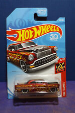 2018 Hot Wheels CUSTOM '53 CHEVY - HW FLAMES Series 8/10 US Imported Long card.