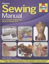 Sewing Manual: The complete step-by-step guide to sewing skills-ExLibrary
