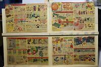 MCM Vintage Placemat Set Christmas Catalog Toys Gilbert Daisy G I Joe Remco
