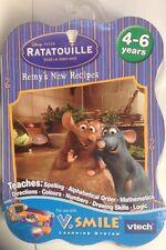 Vtech V.Smile Disney RATATOUILLE REMY' s de nouvelles recettes 4-6 ans