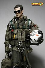 VERY HOT Toy 1/6 Scale U.S. NAVY VFA-41 Black Aces Pilot Clothes Set IN STOCK